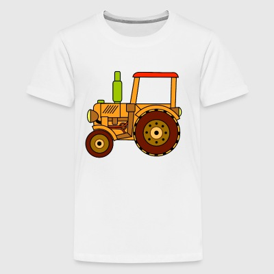 toy tractor - Kids' Premium T-Shirt