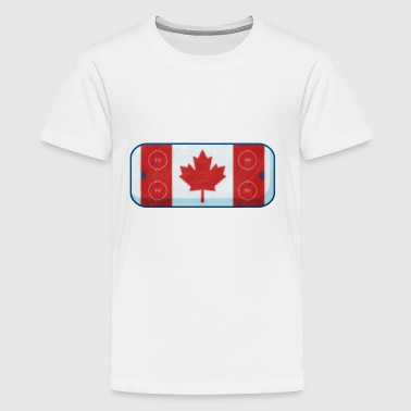 Hockey Rink Flag - Kids' Premium T-Shirt