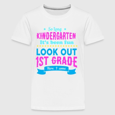 1st GRADE - START OF SCHOOL - GIRLS - Kids' Premium T-Shirt