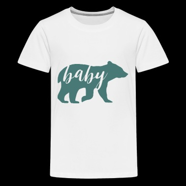 Baby Bear Father's Day Matching Shirts - Kids' Premium T-Shirt