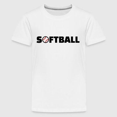 Softball - Kids' Premium T-Shirt