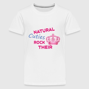 Natural Cuties and Their Crown - Kids' Premium T-Shirt