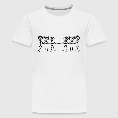 Tug of War - Game - Kids' Premium T-Shirt