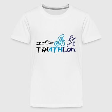 Triathlon Women - Kids' Premium T-Shirt
