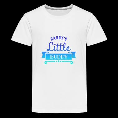 Daddy's little buddy (fade) - Kids' Premium T-Shirt