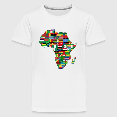 The Flags of Africa - Kids' Premium T-Shirt