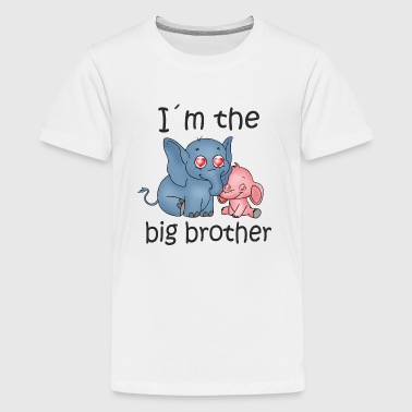 I'm the Big Brother B - Kids' Premium T-Shirt