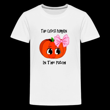 Cutest Pumpkin In The Patch Halloween Theme - Kids' Premium T-Shirt