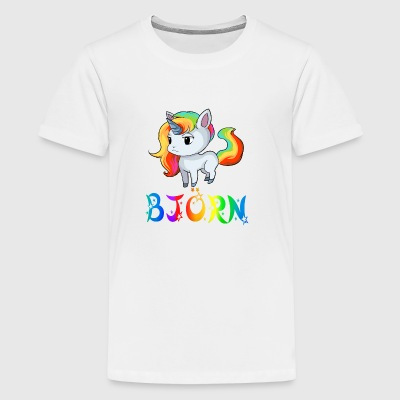 Björn Unicorn - Kids' Premium T-Shirt