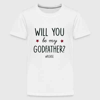 will you be my godfather - Kids' Premium T-Shirt
