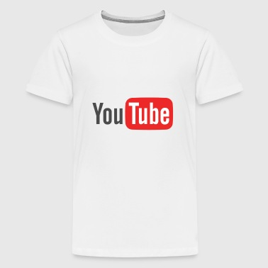 youtube logo - Kids' Premium T-Shirt