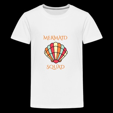 mermaid shell squad - Kids' Premium T-Shirt