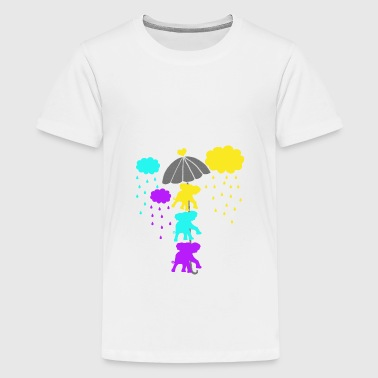 Three elephants - Kids' Premium T-Shirt