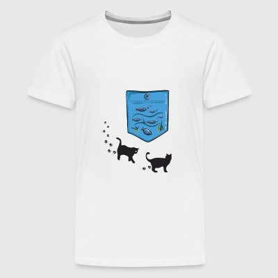 aquarium pocket - Kids' Premium T-Shirt