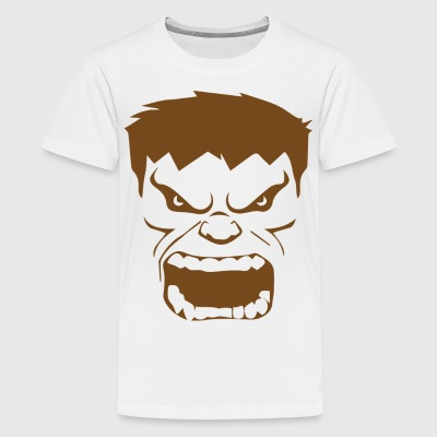 Funny Hunk face T-shirts for kids - Kids' Premium T-Shirt