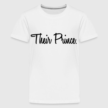 Their Prince - Kids' Premium T-Shirt