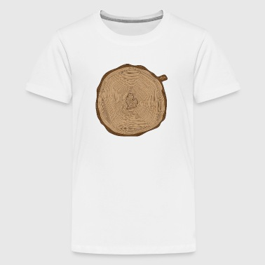 Mitten Ring Tree Rings Michigan - Kids' Premium T-Shirt
