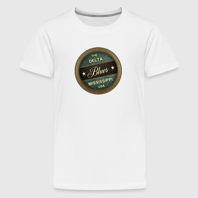 The delta blues - Kids' Premium T-Shirt