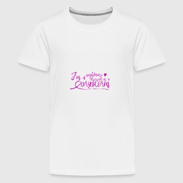 nightmare dressed as a daydream - pink - Kids' Premium T-Shirt