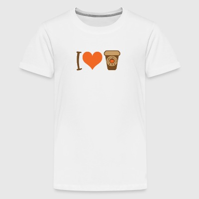 I love Pumpkin Spice latte - Kids' Premium T-Shirt