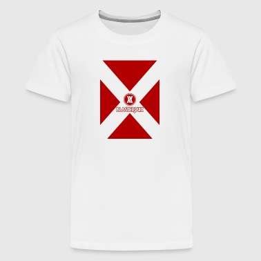 Blasterjaxxr Red V - Kids' Premium T-Shirt
