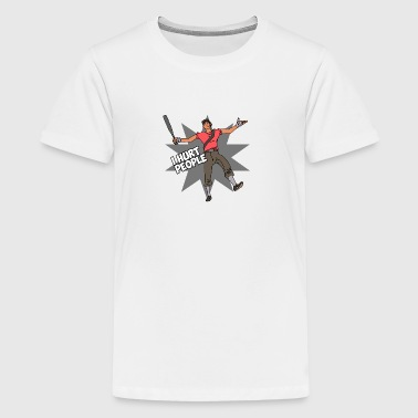 I Hurt People - Scout - Kids' Premium T-Shirt