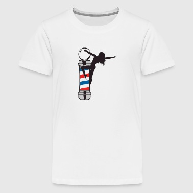 Sexy Barber Pole Girl - Kids' Premium T-Shirt