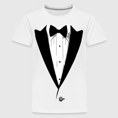 Custom Color Tuxedo Tshirt - Kids' Premium T-Shirt