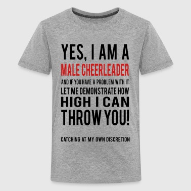 Male Cheerleader Kids Shirts - Kids' Premium T-Shirt
