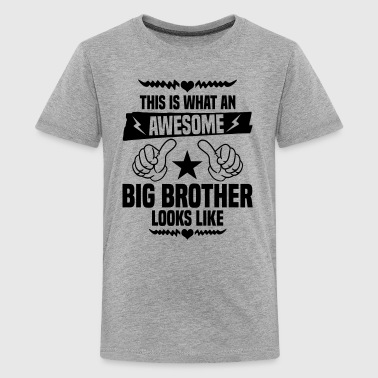 Awesome Big Brother Looks Like - Kids' Premium T-Shirt