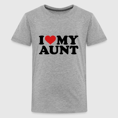 I love my Aunt - Kids' Premium T-Shirt