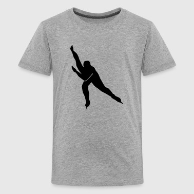 Speed skating - Kids' Premium T-Shirt