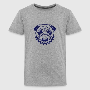 bulldog dog collar feroce 2 - Kids' Premium T-Shirt