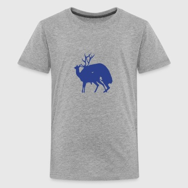 deer fucking reindeer 1 - Kids' Premium T-Shirt