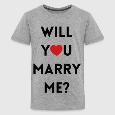 Will You Marry Me? - Kids' Premium T-Shirt