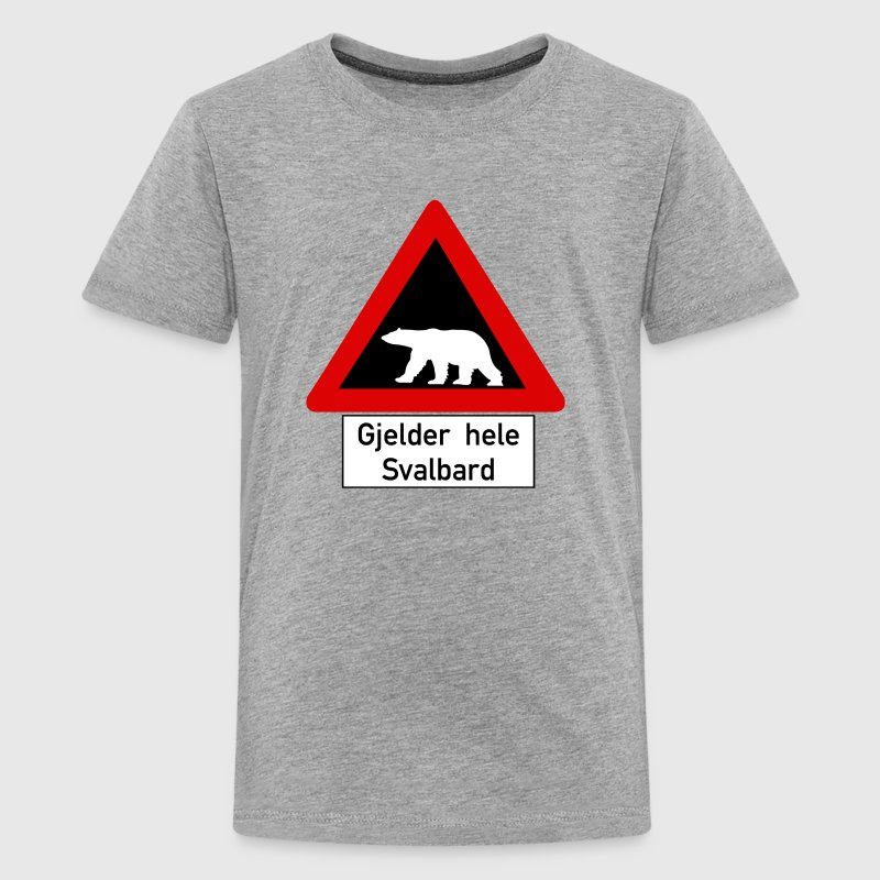 Beware of Polar Bears, Norway - Kids' Premium T-Shirt