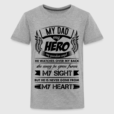 My Hero My Dad - Kids' Premium T-Shirt