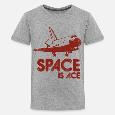 Retro Space Retro space is ace - Kids' Premium T-Shirt