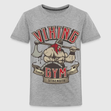 Norse Mythology Viking Gym - Kids' Premium T-Shirt