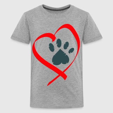 love animals - Kids' Premium T-Shirt