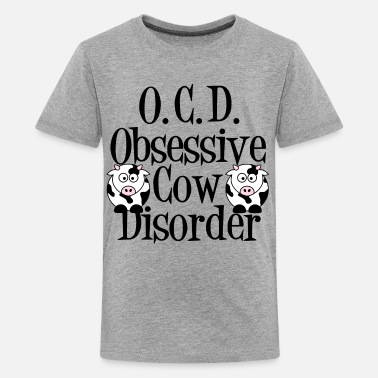 Obsessive Cow Disorder Funny Cow - Kids' Premium T-Shirt