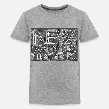 Empire State Building Kids New York Souvenir - Kids' Premium T-Shirt