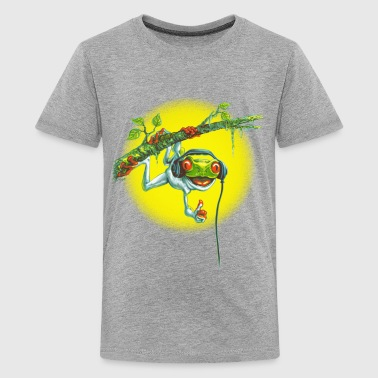 Tree Frog Hanging Out - Kids' Premium T-Shirt
