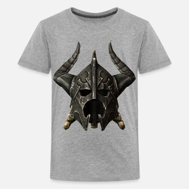Geek Helmet Dragonplate Helmet - Kids' Premium T-Shirt