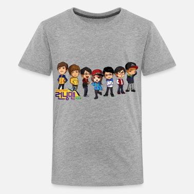 3b639bb7e74aa1 Korean Running Man Shirt (Korea) - Kids  39  Premium T-Shirt
