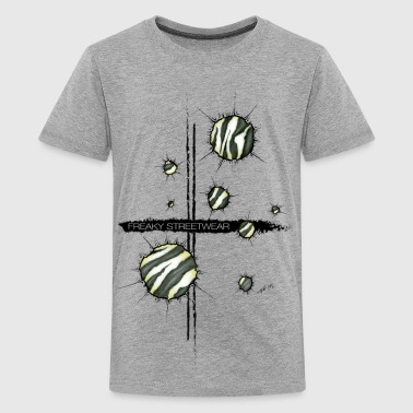 shots zebra - Kids' Premium T-Shirt
