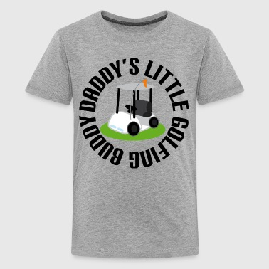 Daddy Little Buddy Daddy's Golfing Buddy Kid - Kids' Premium T-Shirt
