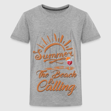 The Beach is Calling - Kids' Premium T-Shirt