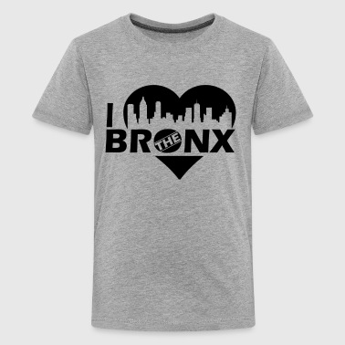 Bronx Love Bronx Shirt - I Love The Bronx T Shirt - Kids' Premium T-Shirt
