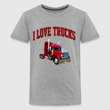 i_love_trucks - Kids' Premium T-Shirt